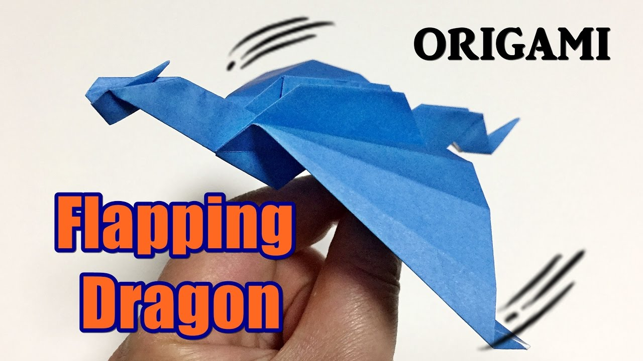 How to Make an Origami Dragon A4 Easy « Origami :: WonderHowTo | 720x1280