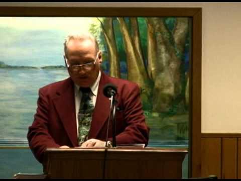 2/17/13 Sunday Evening Service Pastor Carl Jenkins Loudon FWBC