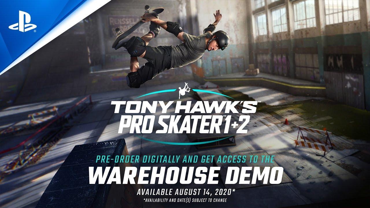 Tony Hawk's Pro Skater 1 + 2 - Warehouse Demo | PS4