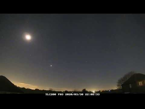 Night Timelapse Of 30th/31st March 2020, Irlam