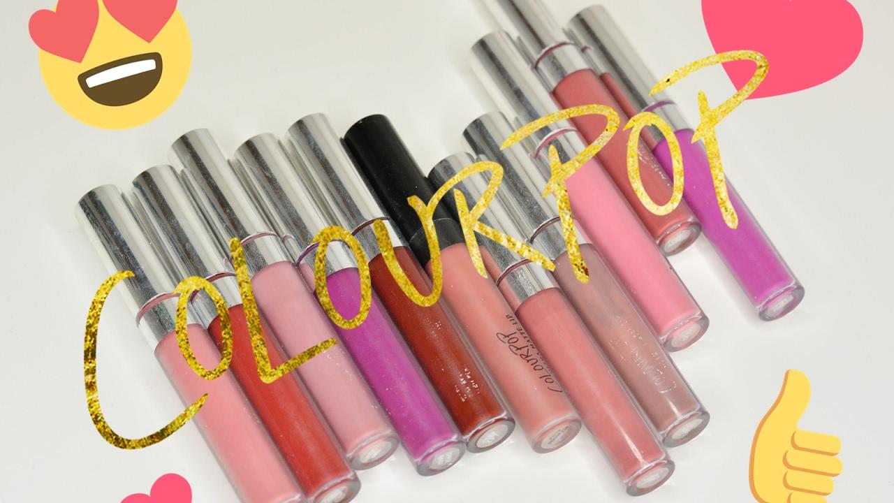 Colourpop Ultra Matte Lip + Swatche