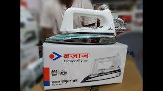Bajaj Popular Plus Dry Iron Unboxing