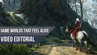 Video Game Worlds that Actually Feel Alive