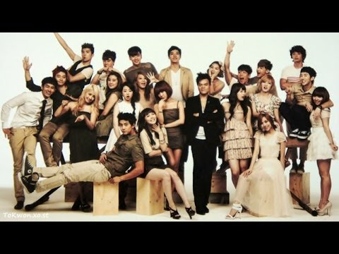 KPOP Evolution (JYP Entertainment Artists Evolution ...