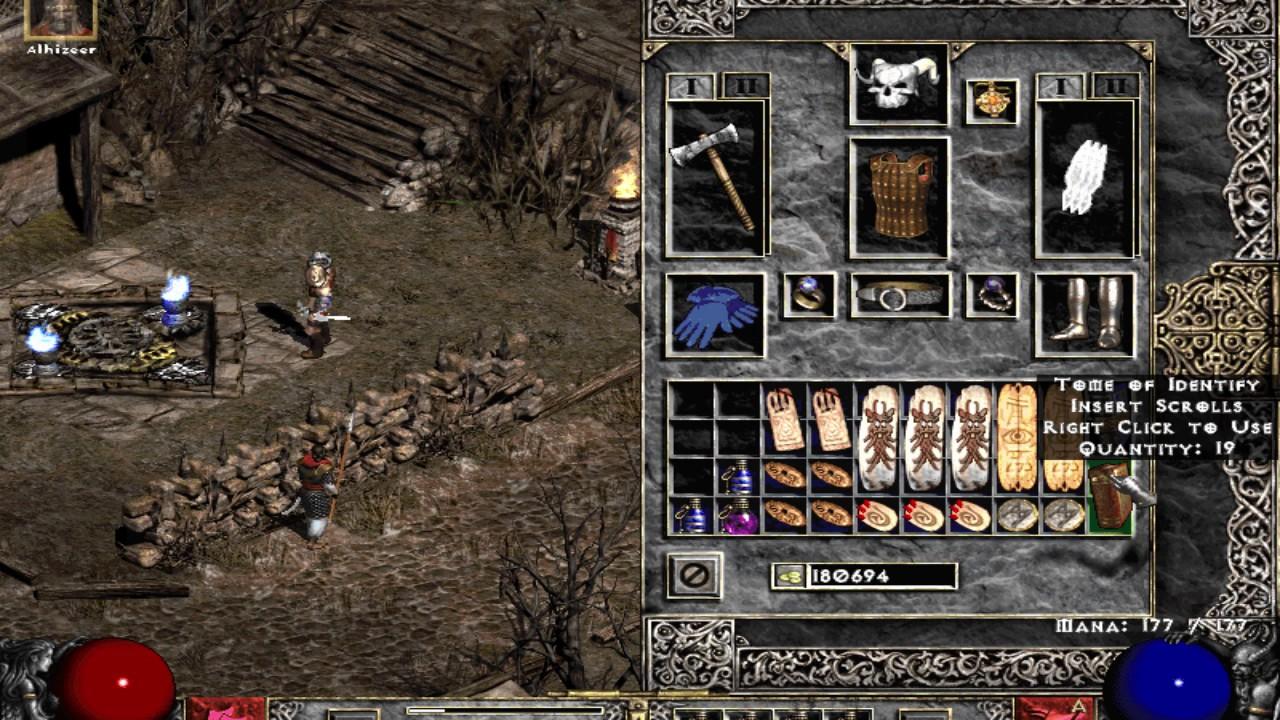 Diablo 2 Single Player Throw Barb - YouTube