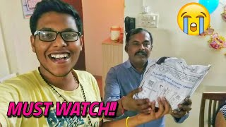 Gifting My Indian Dad The Most Expensive Gift Ever | **gone Emotional**  | #vlog 8