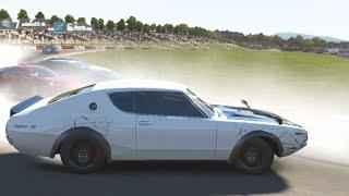 Forza Week : FM6 Online 73' Skyline GTR Tandems Best Moments (Ralph Lauren Polo Red)