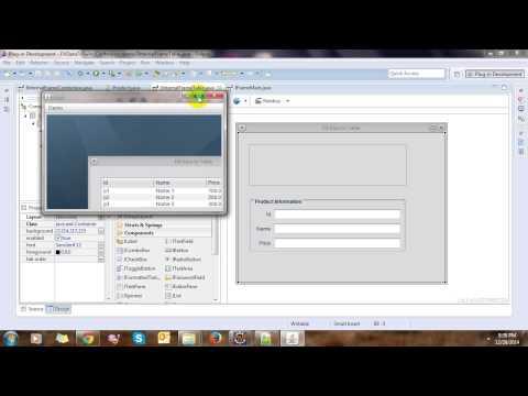 Data Binding Swing Controls in Eclipse thumbnail