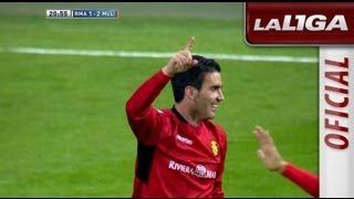 Gol de Alfaro (1-2) en el Real Madrid - RCD Mallorca - HD