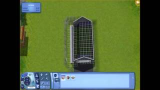 Sims 3 Tutorial: Adding An Attatched Garage/sloped Driveway