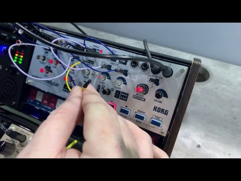 Volca modular touchy patch points