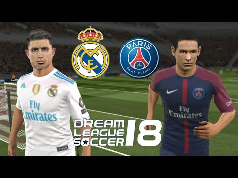 Real Madrid vs PSG • Dream League Soccer 2018 - 동영상