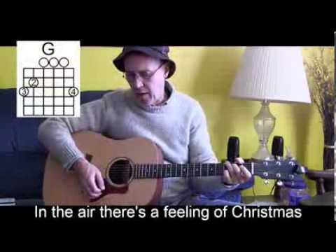 Silver Bells with Lyrics/Chords Acoustic Cover to Play/Sing Along - P33