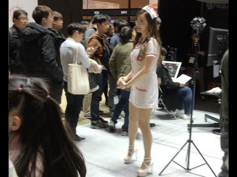 VR expo in Coex Seoul, South Korea (4K)