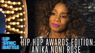 Anika Noni Rose Talks Janet Jackson, Missy Elliot & More! | Lip Sync Battle: Hip-Hop Awards Edition