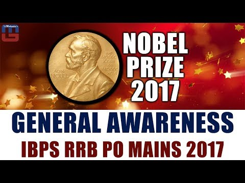 Nobel Prize 2017 | General Awareness | IBPS RRB PO MAINS 201
