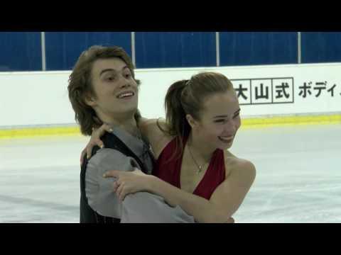 2016 ISU Junior Grand Prix - Ljubljana - Short Dance - Sofia POLISHCHUK / Alexander VAKHNOV RUS