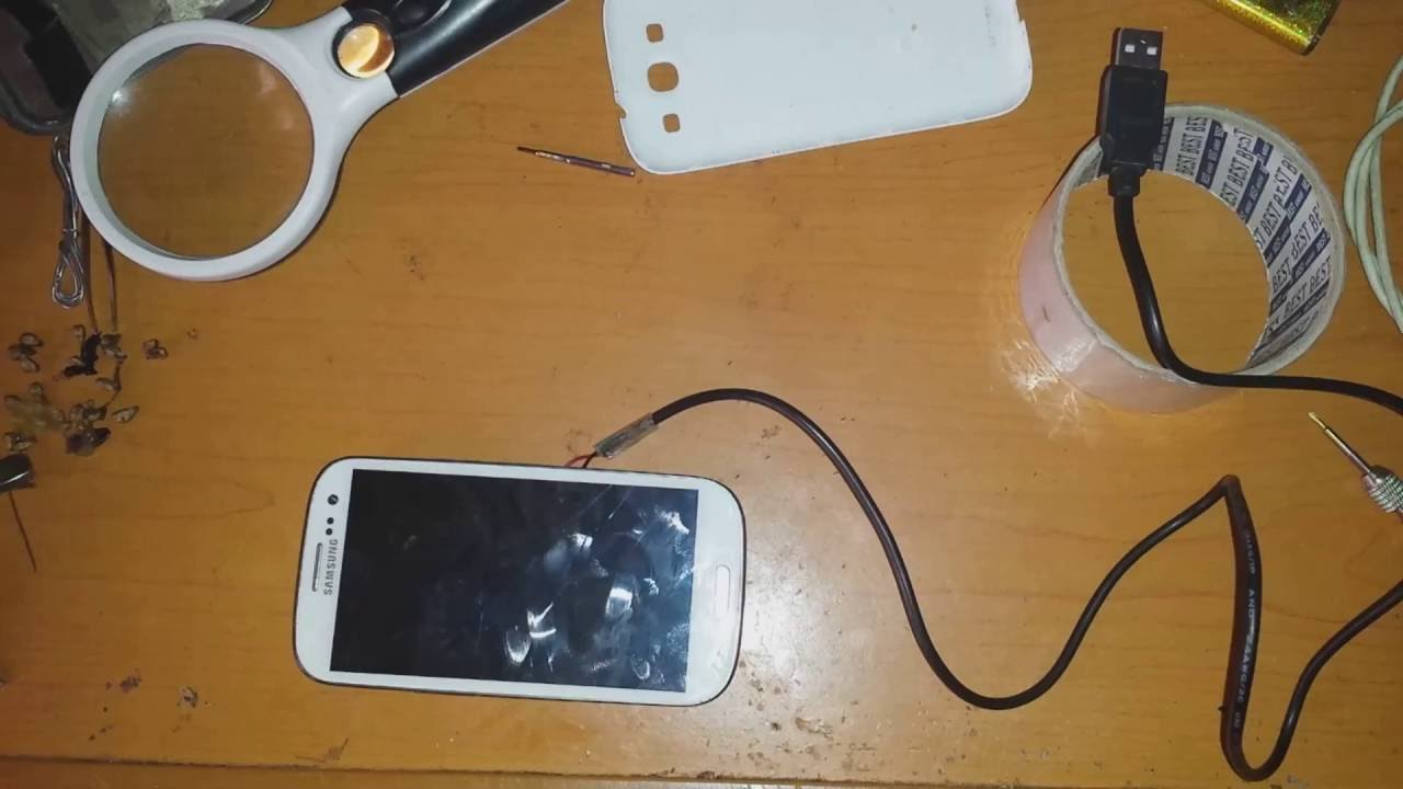 how to charge galaxy s3