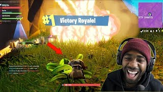 GETTING CARRIED BY A PRO IN FORTNITE! (WITH TEAM ALBOE)