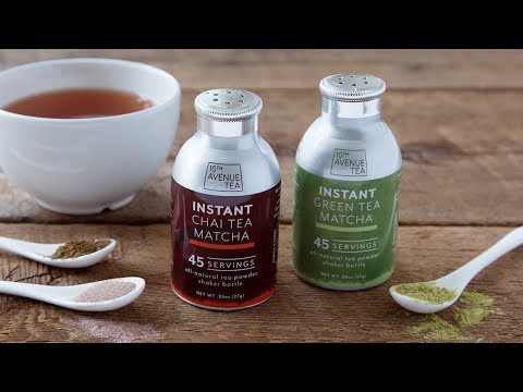 10th Avenue Tea | Portable Matcha Tea Powders