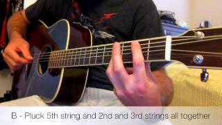 Cage The Elephant - Back Against The Wall Acoustic Guitar Lesson