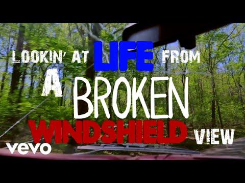 Chris Lane - Broken Windshield View (Lyric Video)