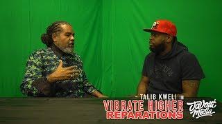 "YouTube動画:Talib Kweli: Vibrate Higher ""Reparations"" Ft.Reverend Mark Thompson"