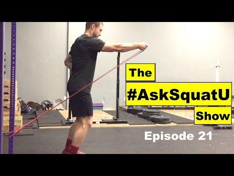 4 Core Stability Exercises For a Better Squat  #AskSquatU Show Ep. 21 