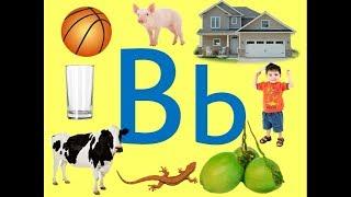 Titik Bb /b/ Learning Filipino || Mga Salitang Nagsisimula sa Letrang Bb ( Letter Bb)  ALPHABET