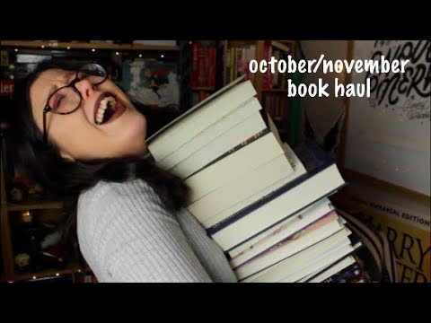 Books glorious booksss   October and November book haul