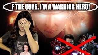 CAPTAIN MARVEL RANT! MODERN FEMINISM IS RUINING THE MCU!