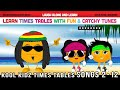 Times Tables Songs To Kool Kidz Learn With Fun Amp Catchy Tunes
