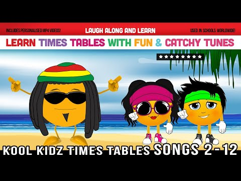Times Tables Songs 2 to 12 (Kool Kidz) Learn with Fun & Catchy Tunes!
