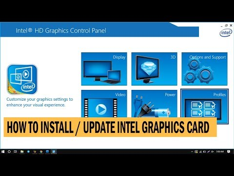 How To Install / Update Intel HD Graphics Driver