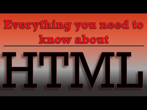 HTML Tutorial For Beginners- HTML Email Url Placeholder Element