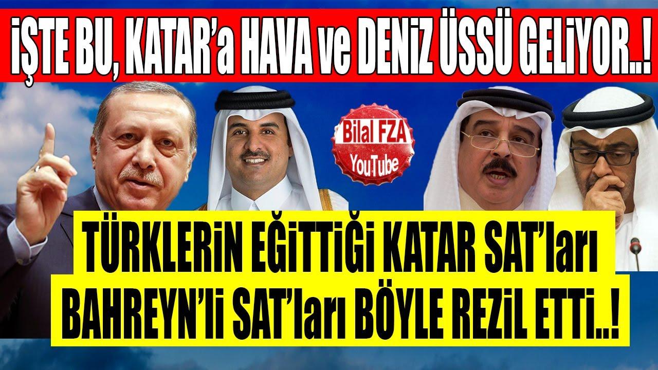 Türkiyeden BAEyi Kuzuya Çevirecek Adım HAVADAN DENİZDEN KATARA GELİYORUZ
