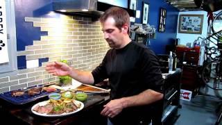 Pan Seared New York Strip Steaks