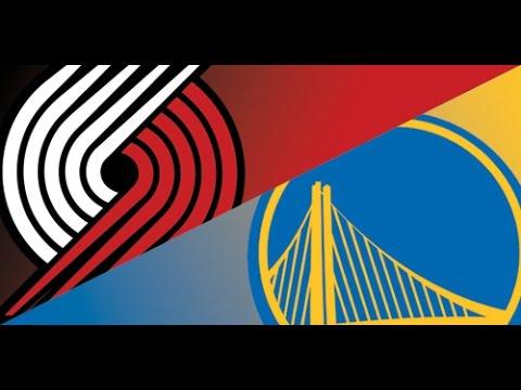 GS Warriors vs Portland Trail Blazers - Game 1 - May 14 ...
