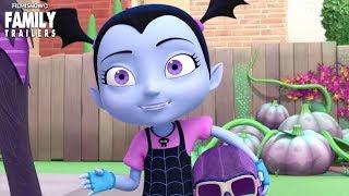 "VAMPIRINA | ""Teaching Vee Tricks"" Clip - Disney Junior Series"