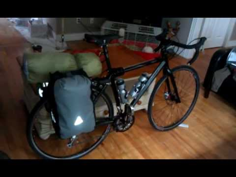 Norco Ccx 3 Loaded With Axiom Typhoon Lx Bags And Drifter 2 Tent