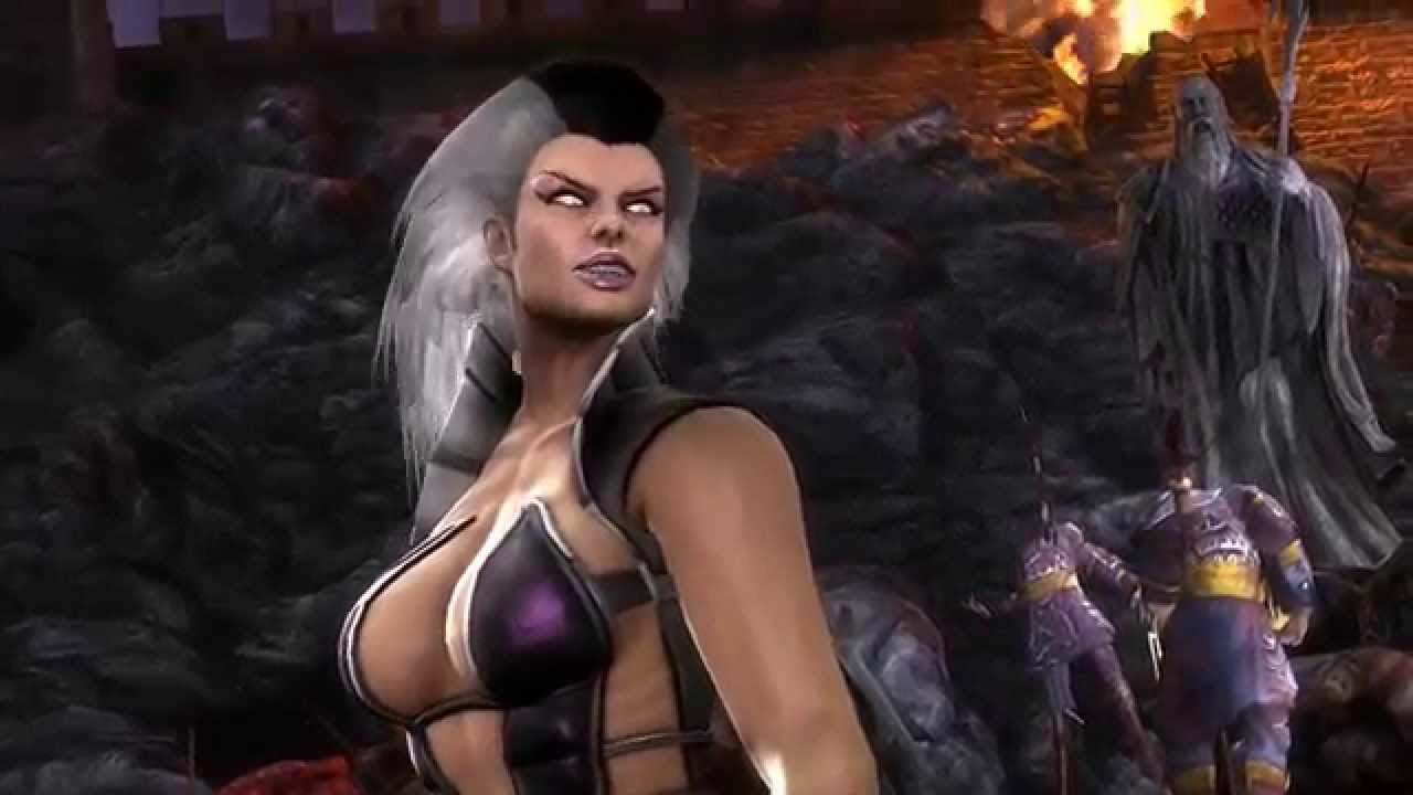 Mortal Kombat 9 - Sindels Return HD - YouTube