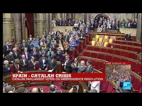 Catalonia Crisis: Catalan Parliament votes for independence from Spain