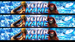 'FREE' FORTNITE BANNER TEMPLATE SEASON 7 / BANNER 'GRATIS' EDITABLE DE FORTNITE (Berly06)