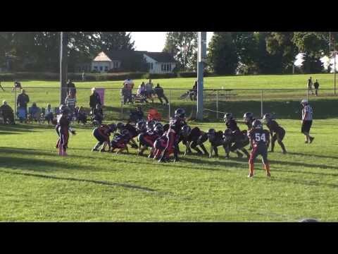 2013 Clarence Bulldogs JV Marron Vs Lockport Raiders