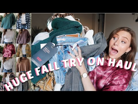 *HUGE* FALL TRY ON CLOTHING HAUL (2020)   American Eagle, Urban Outfitters, + More!