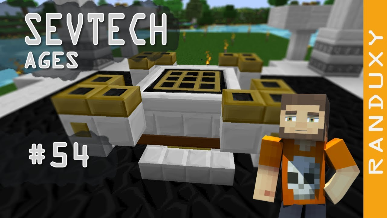 SevTech Ages: Minecraft - Ep 54 - Celestial Altar, No more Twilight Forest  for me