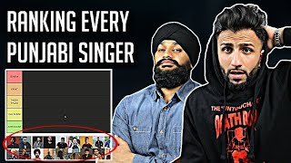 Ranking Every Punjabi Singer! BEST TO WORSE (Our Opinion) | Geet Nation