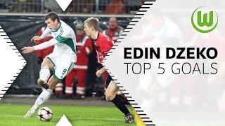 Top 5 Goals from Edin Dzeko