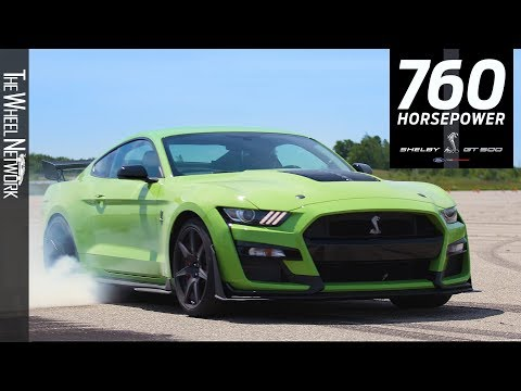 2020 Ford Mustang Shelby GT500 – 760 Horsepower