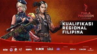 Piala Presiden Esports 2020 - FREE FIRE - Kualifikasi Filipina